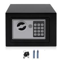 4.6L professionnel coffre-fort maison numérique électronique boîte de sécurité maison bureau mur Type bijoux argent Anti-vol coffre-fort