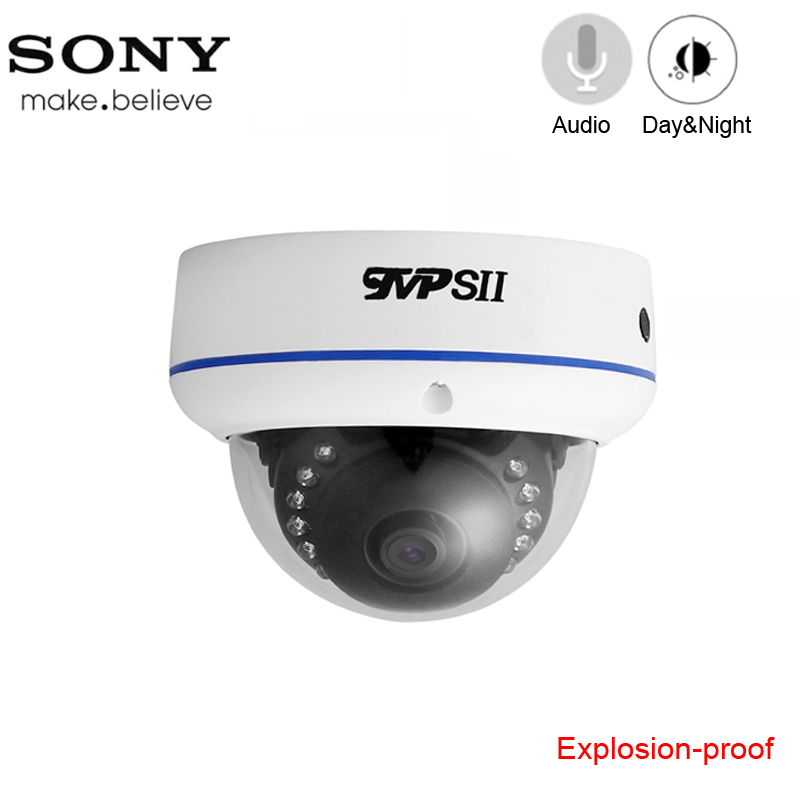 15pcs Infrared Leds 4K 8mp/5mp/4MP/2MP Explosion-proof White Metal Dome Hemisphere Audio Surveillance AHD CCTV Camera