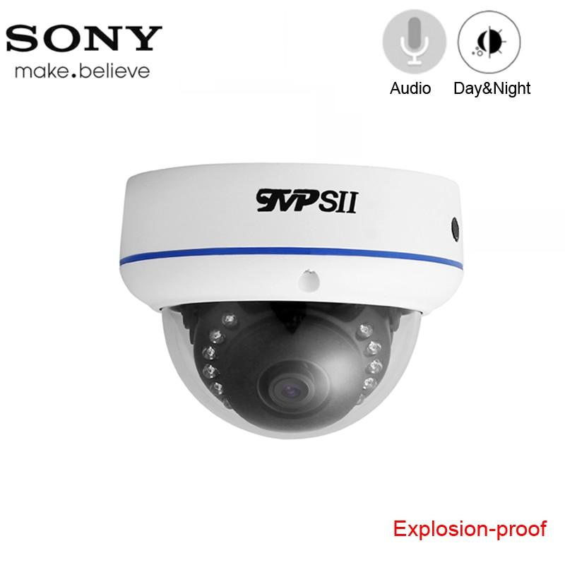 15pcs Infrared Leds 4K 8mp/5mp/4MP/2MP Explosion-proof White Metal Dome Hemisphere Audio Surveillance AHD CCTV Camera
