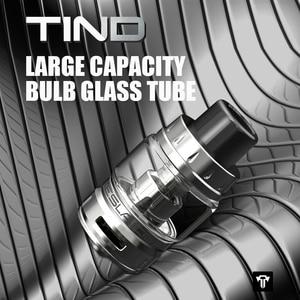 Image 2 - Original Teslacigs TESLA Tind Tank 28mm Diameter 4.5ml Mesh Tank Atomizer With 0.18ohm TS X3 Mesh Coil For Tesla P226 Mod