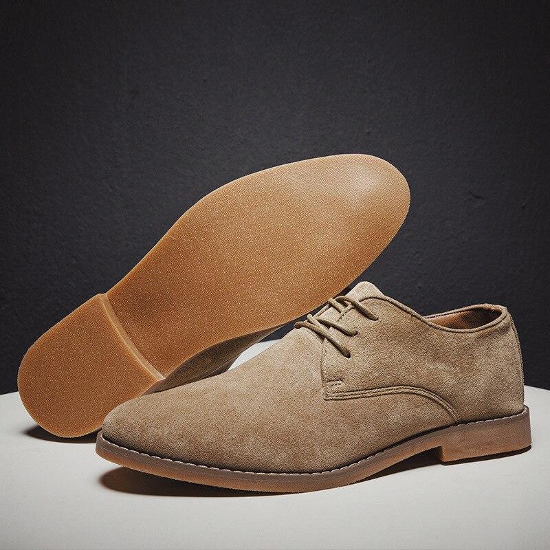 Hd810de6ab8c149efb471d833e6bd24e87 2019 fashion men casual shoes new spring men flats lace up male suede oxfords men leather shoes zapatillas hombre size 38-48