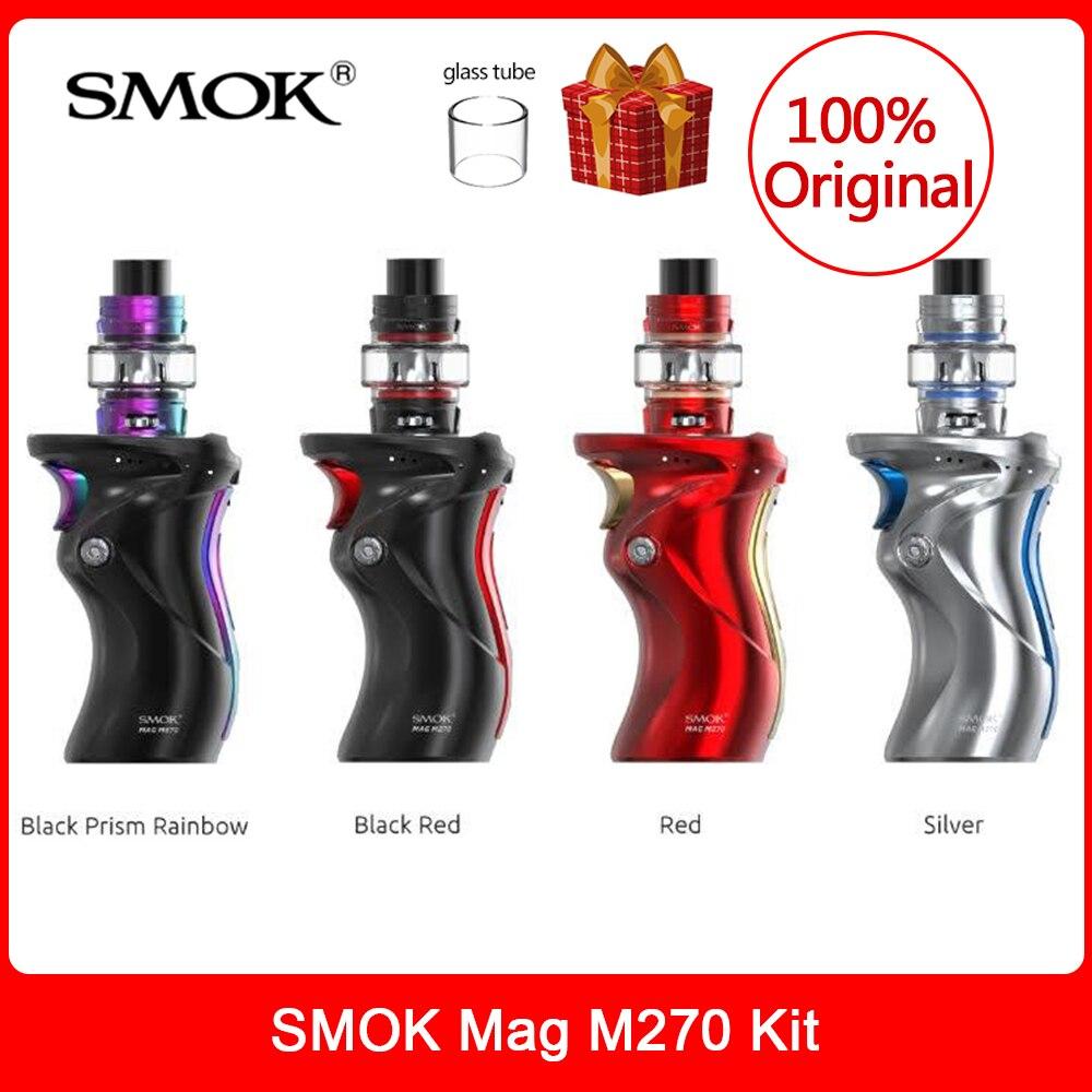 Original SMOK Mag M270 Kit 70W TFV8 Baby V2 Tank 5ml V8 Baby S1/S2 Coil E-Cig Vaporizer VS X Priv /mag Grip /species/r Kiss Vape