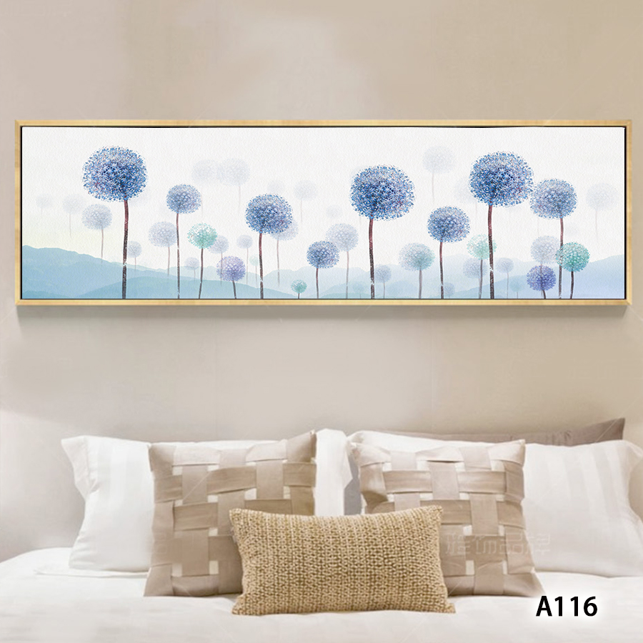 Peinture à lhuile abstraite sur toile | Imprimé de fleurs modernes, toile, peinture murale dart, tableau pour décor de maison