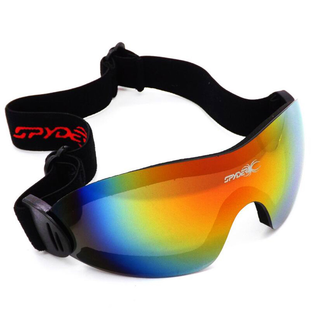 QUESHARK Adjustable Ski Goggles 2 Lens UV400 Anti-fog Snowboard Skiing Glasses Sports Windproof Ski Eyeawear Protection