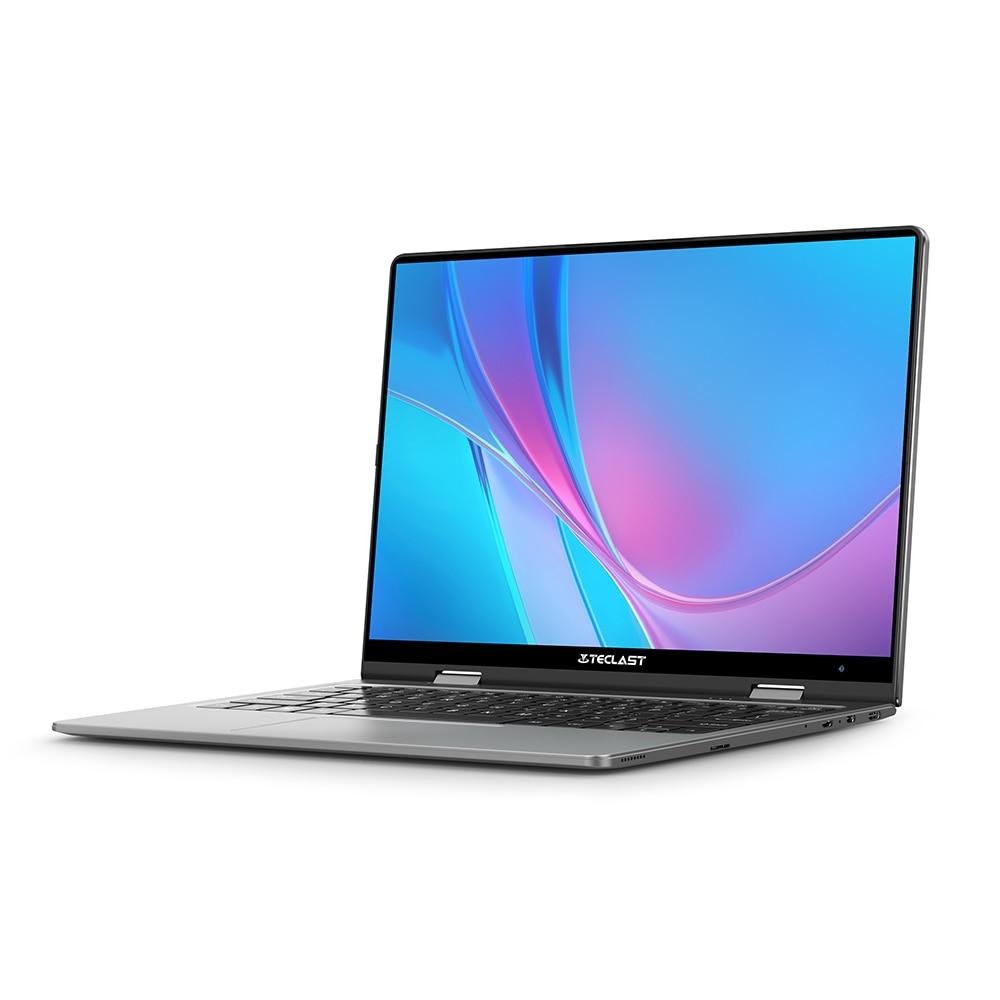 Teclast f5 computador portátil 8gb ddr4 11.6 gb ssd windows 10 do tela táctil de 256 polegadas computador portátil intel n4100 1920x1080 ips 360 ° tipo-c 3
