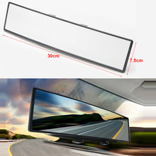 Car Universal Curve Convex Interior Clip On Panoramic Rear View Mirror Wide Angle Auto Rear View Mirror for Car SUV Van Truck