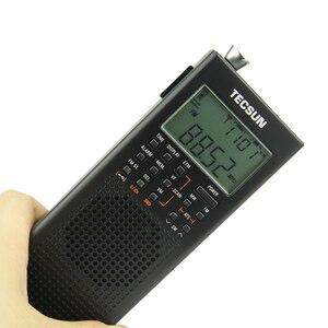 Image 2 - Tecsun PL 360 Полнодиапазонный FM/MW/LW/SW цифровая Демодуляция Карманный стерео ручной полупроводниковый зарядный радиоприемник для пожилых людей