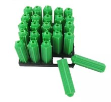 100 шт зеленая пластиковая Расширительная трубка m6 труба нейлоновый