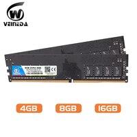 Ram ddr 4 PC4 19200 da memória de veineda dimm ram ddr4 8 gb 16gb 2400 para intel amd deskpc mobo ddr4 8 gb 1.2 v 284pin|RAM| |  -
