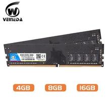 DIMM DDR Memory-Ram Mobo VEINEDA 4-2400 PC4-19200 Deskpc 16GB 8GB 288pin for Intel AMD
