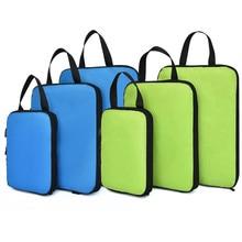 Набор компрессионных кубиков Soperwillton для путешествий, 3 размера, 3, 6 штук, аксессуары для органайзеров для чемоданов, #9004