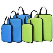 Soperwillton Compressione Imballaggio Cubi Set Per I Viaggi 3 Formati 3 6 Pezzi Bagaglio di Viaggio Organizzatori di Imballaggio Accessori #9004
