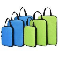 Soperwillton kompresyjne kostki do pakowania zestaw do podróży 3 rozmiary 3 6 sztuk bagaż podróżny organizery do pakowania akcesoria #9004