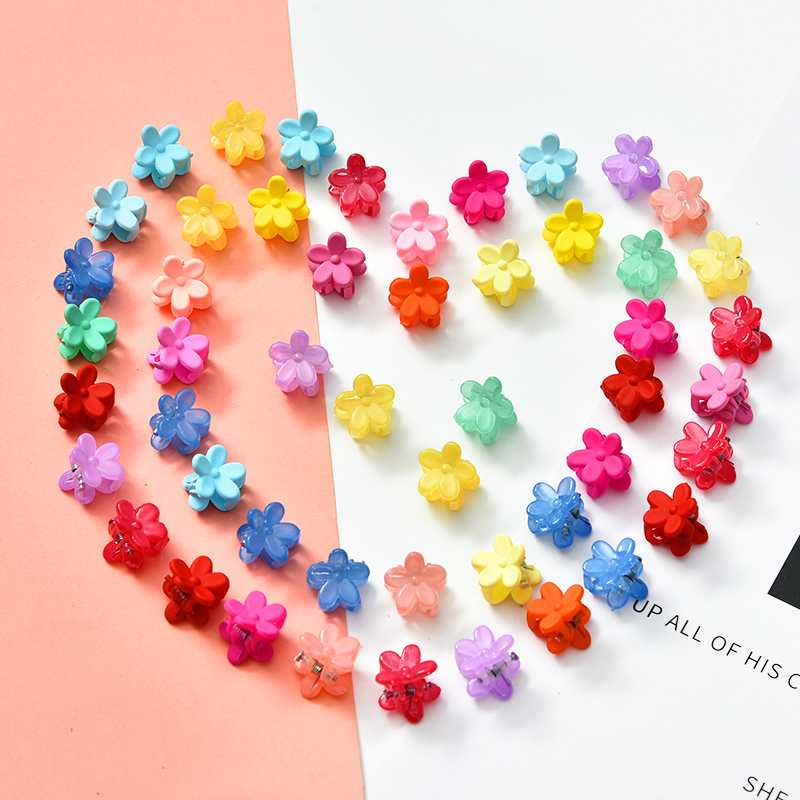 10/20/30/50 Pcs/Pag Cute Girls Women Flower Crown Animals Baby Hair Claws Children Hairpins Hair Clips Kid Hair Accessories Set