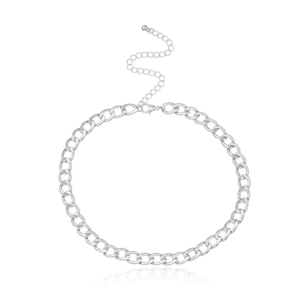 Thời Trang Liên Kết Dây Chuyền Choker Vòng Đeo Cổ Cho Nữ Vòng Tay Nữ Collares Trang Sức XL066