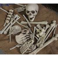28pcs/Set Halloween Skeleton Skulls Arm Horror Buried For Home Garden Yard Lawn Halloween Party Decoration Horror