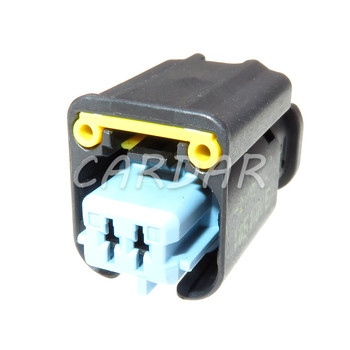 1 Set 2 Pin Auto Engine Fan Water Temperature Sensor Plug Socket Waterproof Auto Connector For BMW MINI image