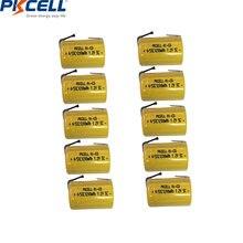Аккумуляторы pkcell 4/5 sc 12 в 1200 мА · ч 4/4/5 шт