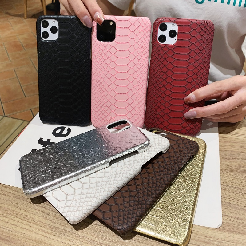 Retro snake Phone Case For iPhone11 11pro max 7 8 Plus X XS Max XR gg case Snake Skin Cases For iPhone6 6S 7 8 Plus Accessories