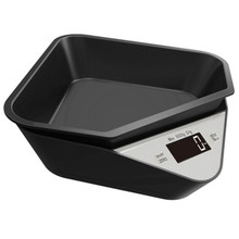 Kitchen Scale Electronic Measuring Scale Coffee Scale Household Baked Food Scale Tray Scale 5KG/1g Pet Scale Cat Dog Food Scale(China)