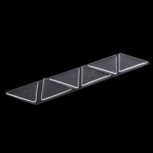 6 stücke Unsichtbare Hause Reusable Silikon Heben Praktische Falten Dreieck Gesicht Pad Patches Maske Stirn Auge Anti Falten