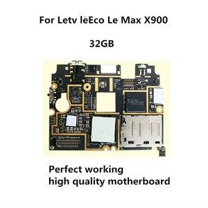 32GB Getest Volledige Werk Unlock Moederbord Elektronische Panel Voor Letv leEco Le Max X900 Logic Printplaat(China)