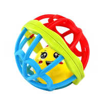 Baby Toys Fun Little Loud Jingle Ball Baby Bath Toys Intelligence Training Grasping Ability Rattles Mobile Baby Toys For Infant