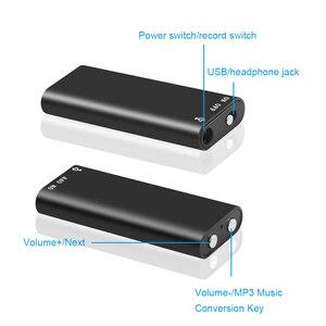 Image 5 - Kebidumei 8G Mini Âm Thanh Kỹ Thuật Số Máy Ghi Âm Dictaphone Stereo MP3 Nghe Nhạc 3 Trong 1 8GB Bộ Nhớ Lưu Trữ Ổ Đĩa Flash USB Ổ