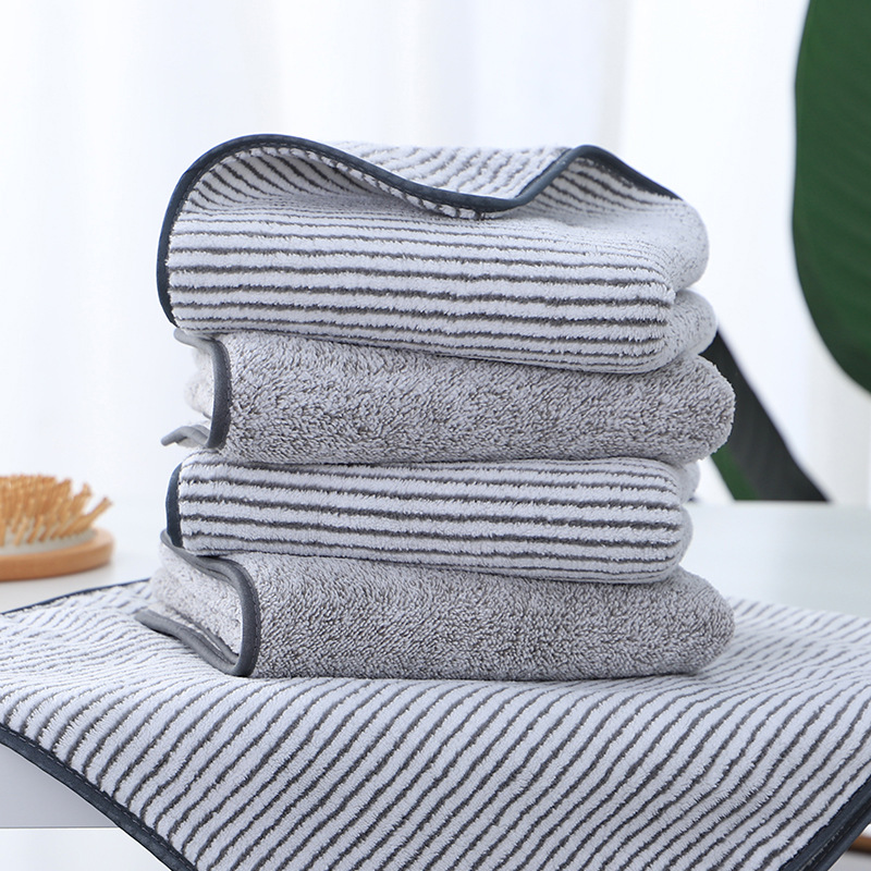 Bamboo Charcoal Fiber Fast Drying Baby Receiving Blanket Bathrobe Super Absorbent Baby Towel Kids Beach Blanket Baby Face Towel