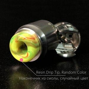 Image 3 - RELOAD X Stil Recurve RDA Zerstäuber 24mm holt Drop Tropf Tank mit squonk BF PIN für 510 S Elektronische zigarette