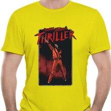 Michael Jackson Mens Mj Thriller T Shirt Black 0104R
