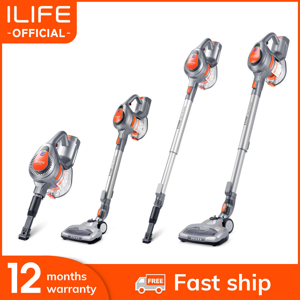 Vacuum-Cleaner Cordless-Stick Strong-Suction-Power Aspirator-35-Minutes Handheld Ilife H55