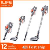 ILIFE-aspiradora de mano H55, aspirador de palo inalámbrico, potente succión, 10.500 Pa, 35 minutos de tiempo de trabajo