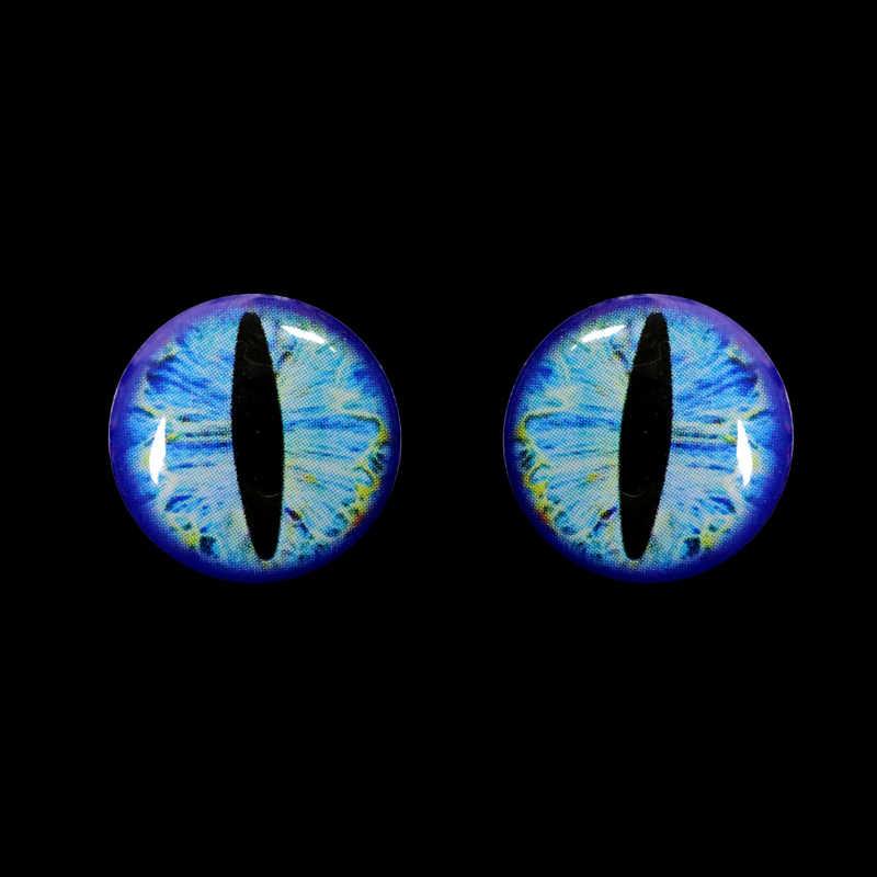 Bimoo 50 con 3D 4D Toàn Phương Mồi Dụ Cá Mắt Cá Mắt cho Đồ Bay Dụ Làm Thủ Công Cá Đầu Lâu Sống mắt Kích Thước 3mm-12mm