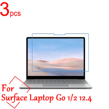 3pcs Ultra Clear/Matte/Nano anti-Explosion Screen Protector For Microsoft Surface Laptop Go 1/2 12.4