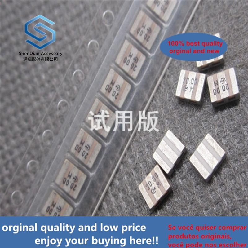 20ppcs 100% Orginal New CSTCV20.00MX0G 3.1x3.7 SMD 3-pin Passive Ceramic Resonator 20M 20MHZ