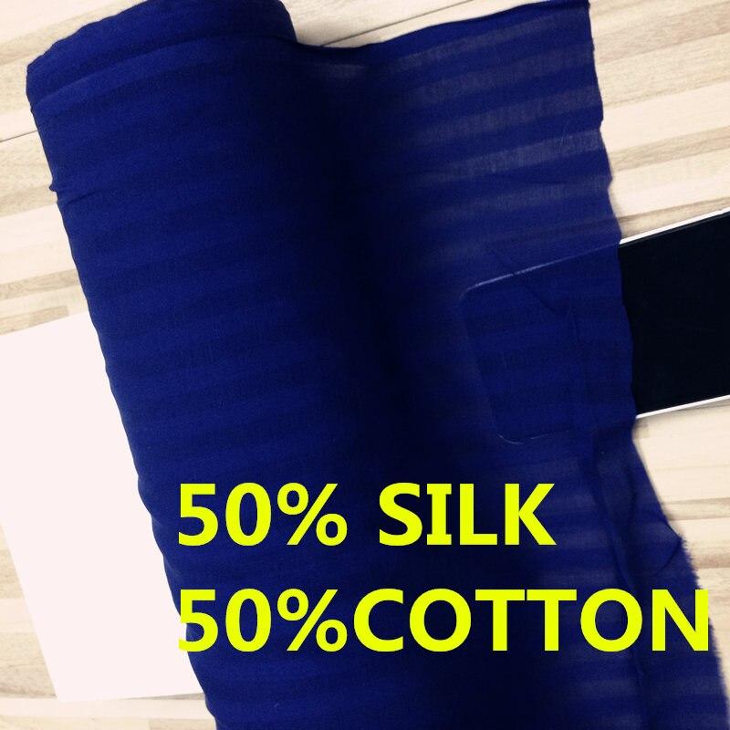 # Y09 #, Добби, Распродажа по 6 м, 50% хлопок, 50% шелковая ткань внутренняя подкладка, цвет: синий, толщина: 9 мм, ширина: 112 см|Ткань|   | АлиЭкспресс