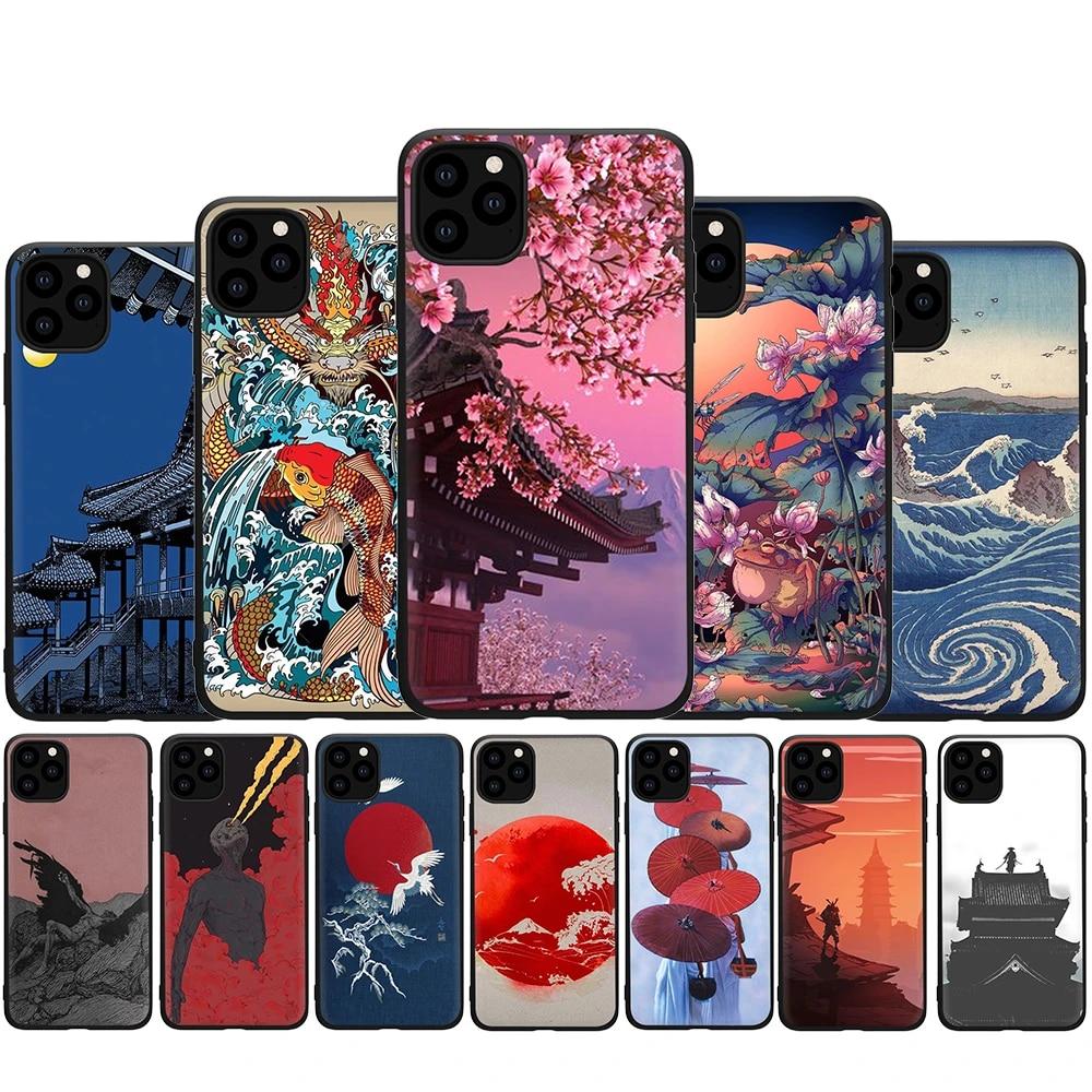 Sanat Piksel Estetik Indie Geek Silikon Telefon Kılıfı Için Iphone 5 5s Se 2020 6 6s 7 8 Artı X Xr Xs 11 Pro Max Yarım Sarılmış Kılıf Aliexpress