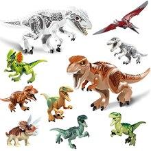 Jurassic World Park Tyrannosaurus Indominus Rex Indoraptor Building Blocks Dinosaur Figures Bricks Toys Compatible With Lepining jurassic tyrannosaurus indominus rex indoraptor world park 2 building blocks dinosaur figures toys compatible with legoing