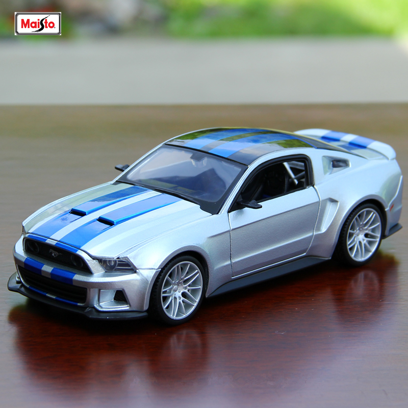 Maisto 1:24 Ford Mustang (Need For Speed) Series Simulation Alloy Car Model Crafts Decoration Collection Toy Tools Gift