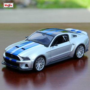 Maisto 1:24 Ford Mustang (Need for Speed) Shelby GT500 Series simulation alloy car model crafts decoration collection toy gift