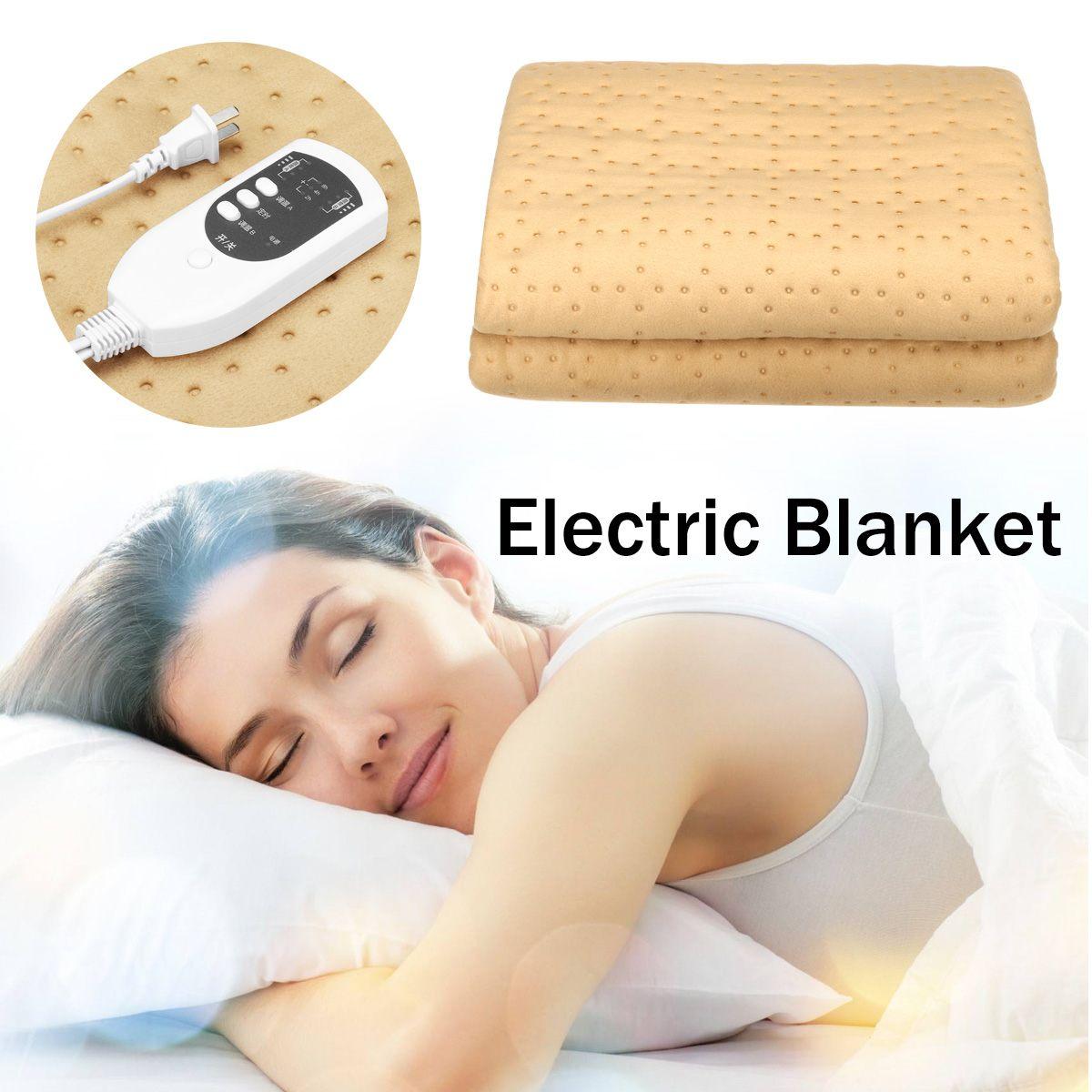 220V Bed Heater Mat Heating Pad Electric Blanket Bed Body Winter Warmer Carpet Electric Blanket Heated Blanket