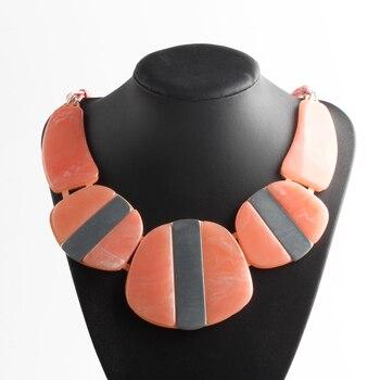 Женское ожерелье с подвеской ZMZY, модное длинное ожерелье в этническом стиле
