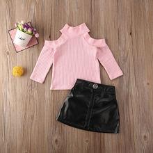 Pudcoco/Новейшая модная одежда для новорожденных девочек Однотонный