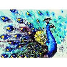 Набор для рисования по номерам на холсте «Птица»