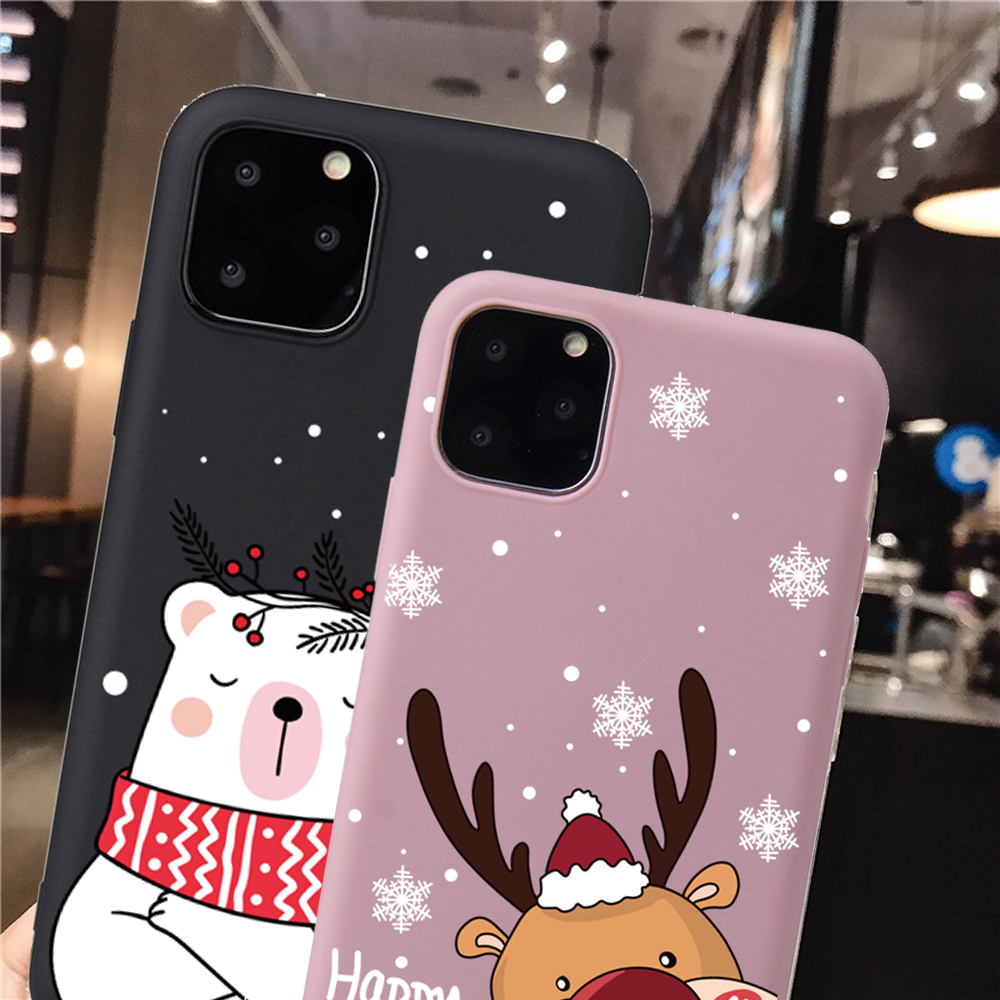 Christmas New Year Santa Claus Case For iPhone 12 Mini