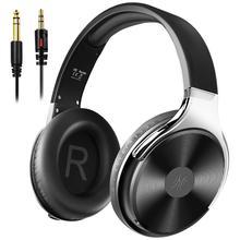 Oneodio yeni yüksek ses kalitesi kablolu kulaklık stüdyo HIFI baş üstü kulaklık seti taşınabilir çanta ile mikrofon derin bas Stareo kulaklık