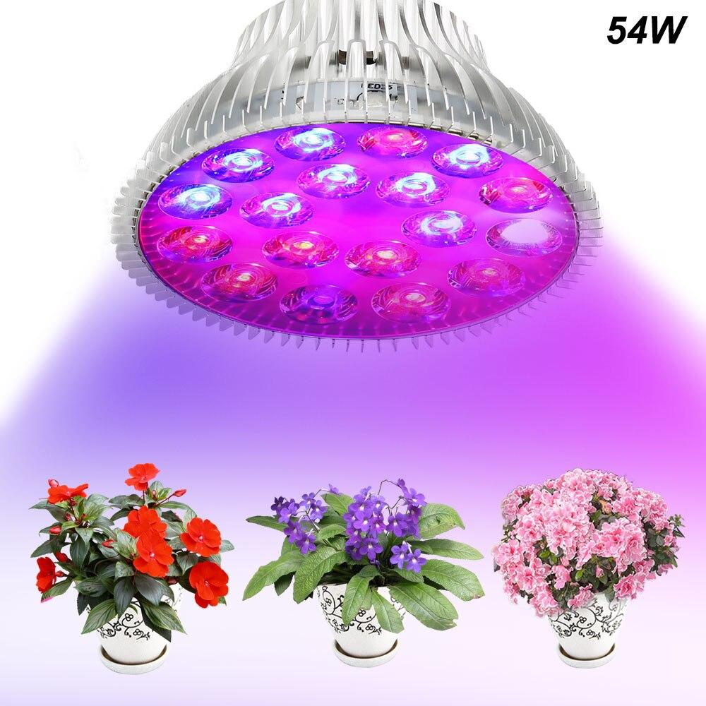 Лампы светодиодный полный спектр светодиодные лампы для выращивания растений лампы рассада выращивания растений, лампа для парниковых