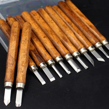 DIY długopis drzeworyt nóż Scorper narzędzia do rzeźbienia w drewnie obróbka drewna Hobby sztuka i rękodzieło Nicking Cutter Graver skalpel 3 4 5 8 10 12 sztuk tanie i dobre opinie CN (pochodzenie) ED857 redwood carving knife