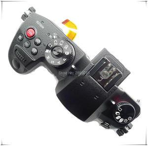 Запасные части для Panasonic Lumix DC-GH5 Верхняя Крышка корпуса чехол в сборе кнопка спуска затвора (черный)